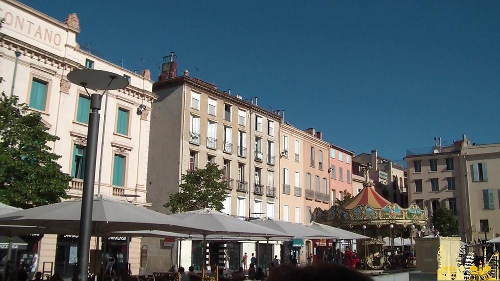 Plaza de la República. Perpignan (Francia)