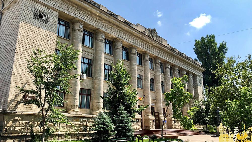 Biblioteca Nacional. Chisinau (Moldavia)