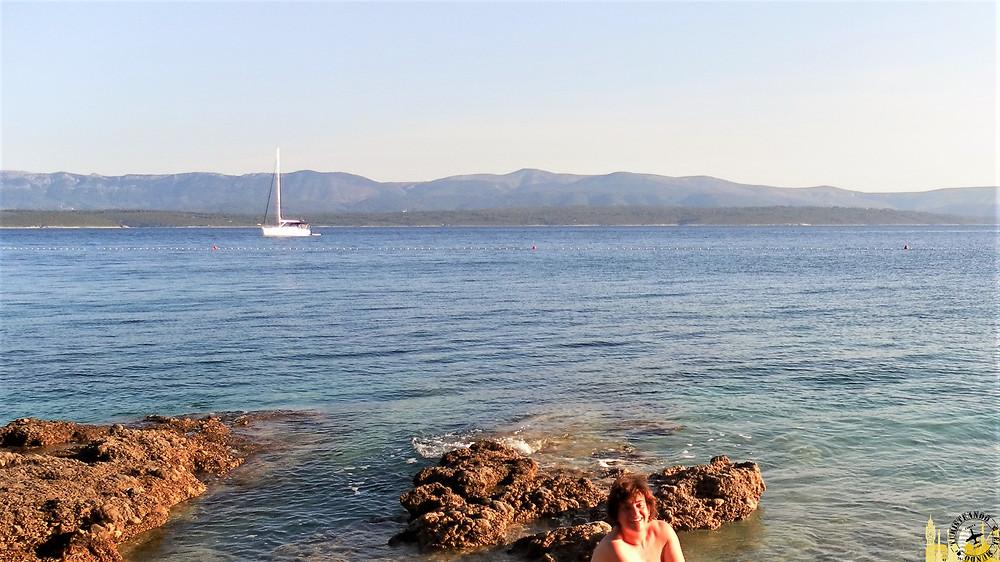 Playa nudista Zlatni Rat (Croacia)
