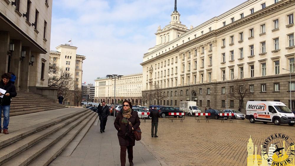 Antigua sede Partido comunista (Sofía-Bulgaria)