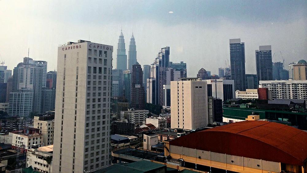 Vistas KL desde hotel Meliá
