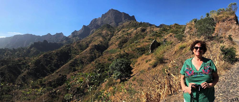 Isla de Santiago. Cabo Verde. Pico de la Antónia