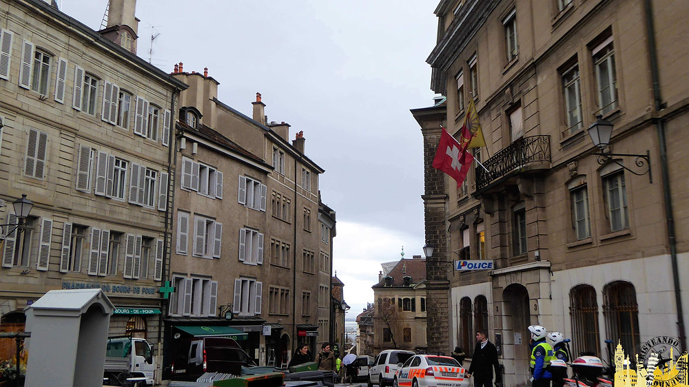 Plaza Bourg-de-Four, Ginebra (Suiza)