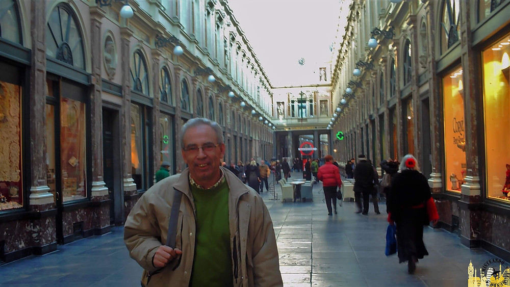Galeries Royales Saint-Hubert (Bruselas). Bélgica