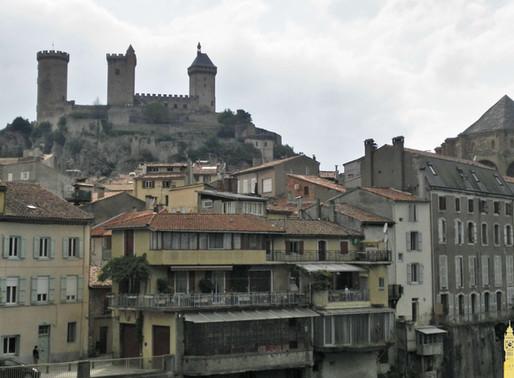 Foix y su castillo. Francia