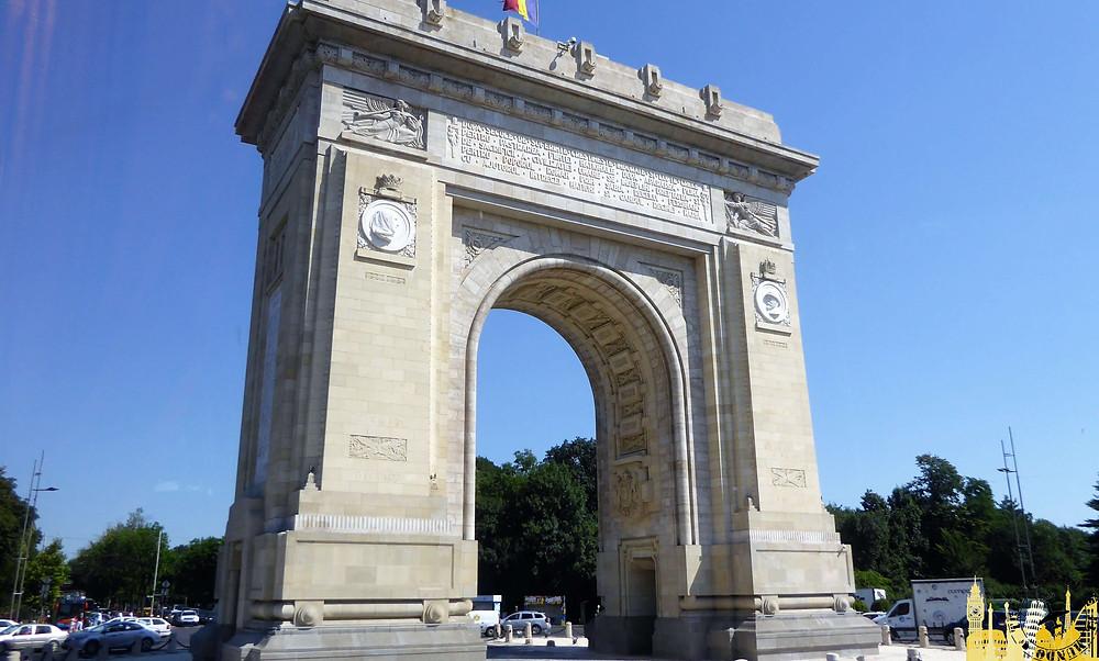 Arco del Triunfo, Bucarest (Rumania)