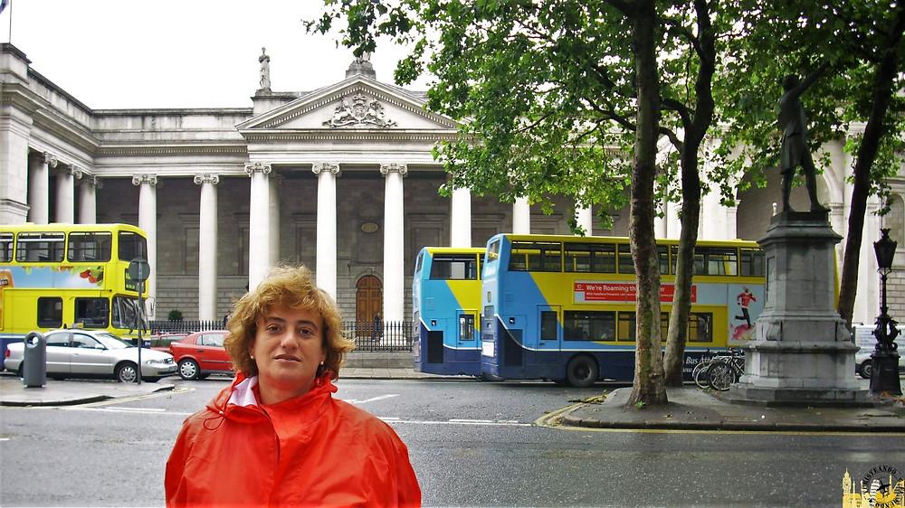 Sede Banco de Irlanda. Dublín (Irlanda)