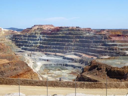 Las minas de Riotinto (Unesco). Andalucía (España)
