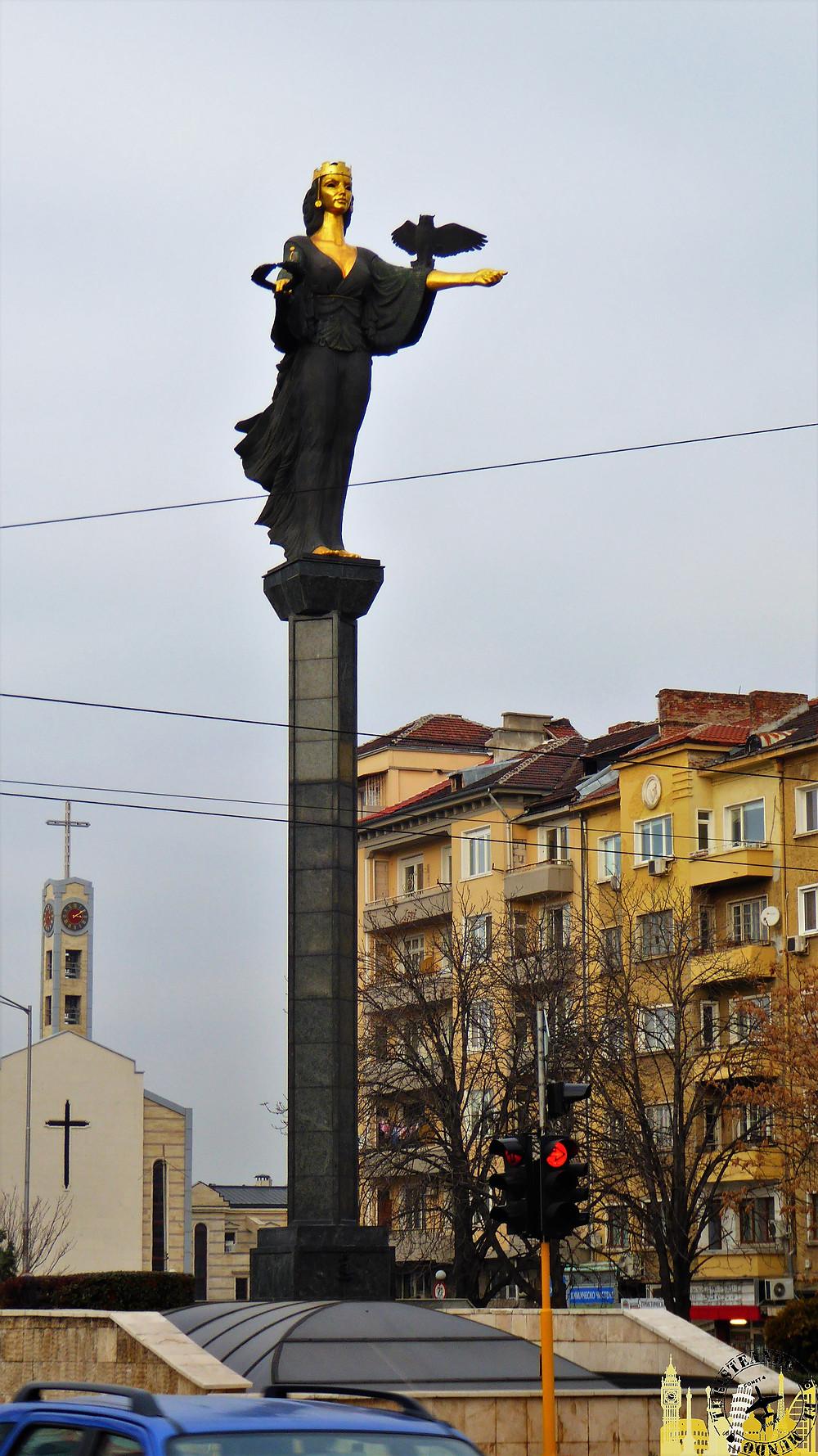 Monumento Santa Sofía (Sofía-Bulgaria)
