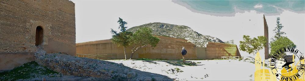 Novelda (Alicante). España. Castillo de la Mola