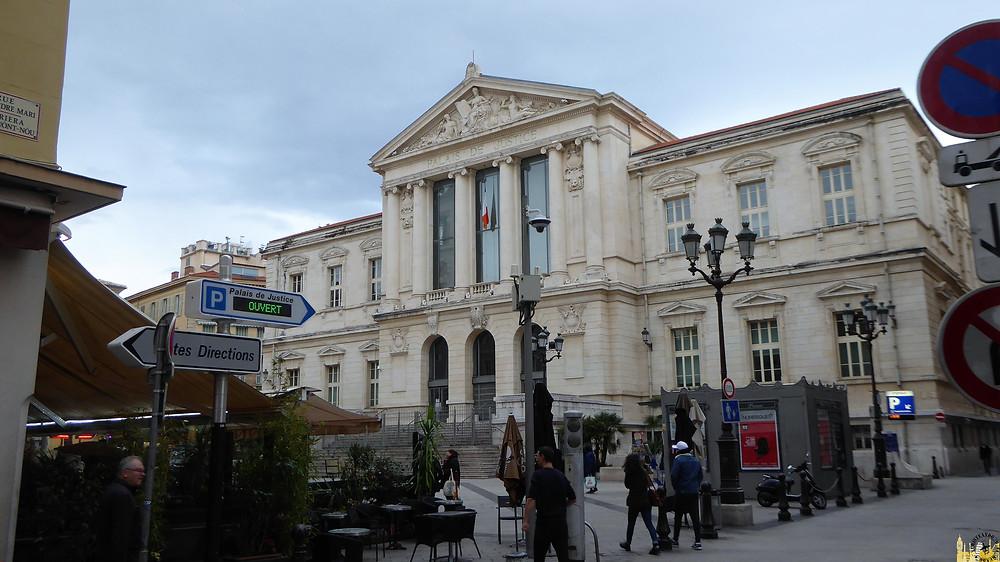 Palacio de Justicia, Niza (Francia)