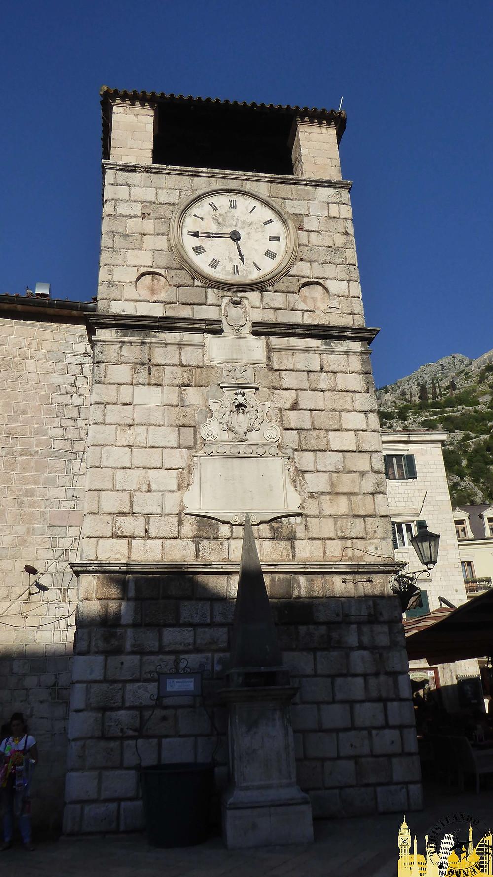 Kotor (Montenegro). Torre del Reloj