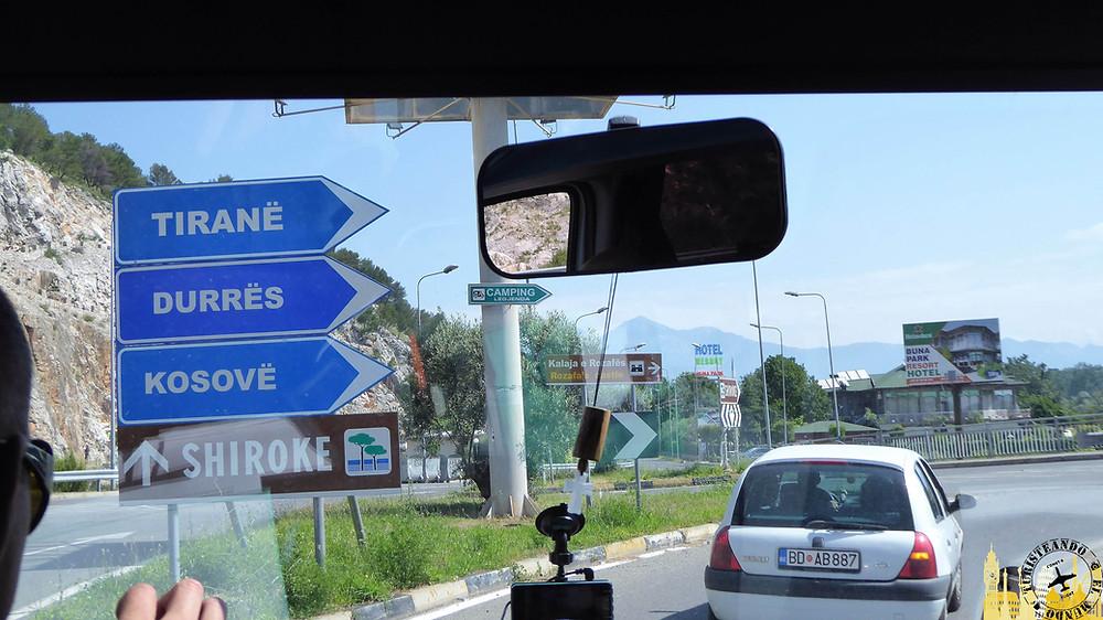 Frontera con Montenegro (Albania)