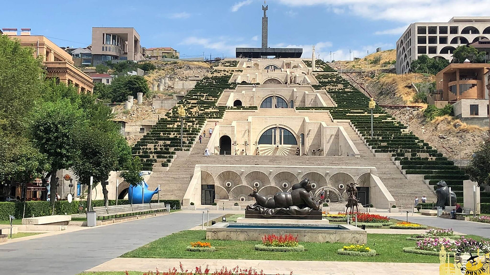 La Cascada y el Museo Kasfejian. Ereván