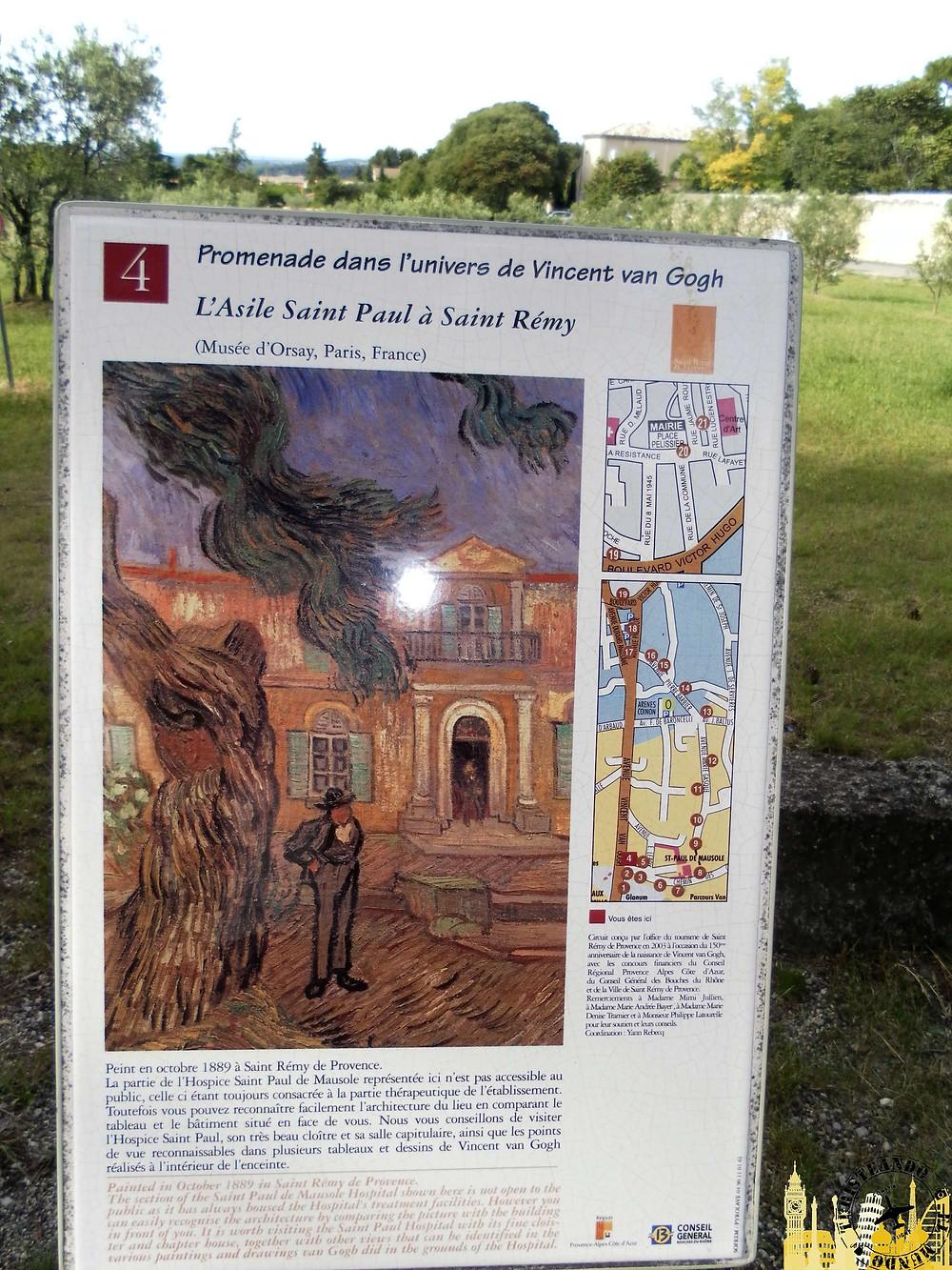 Saint Rémy de Provence (Francia). Paseo Van Gogh