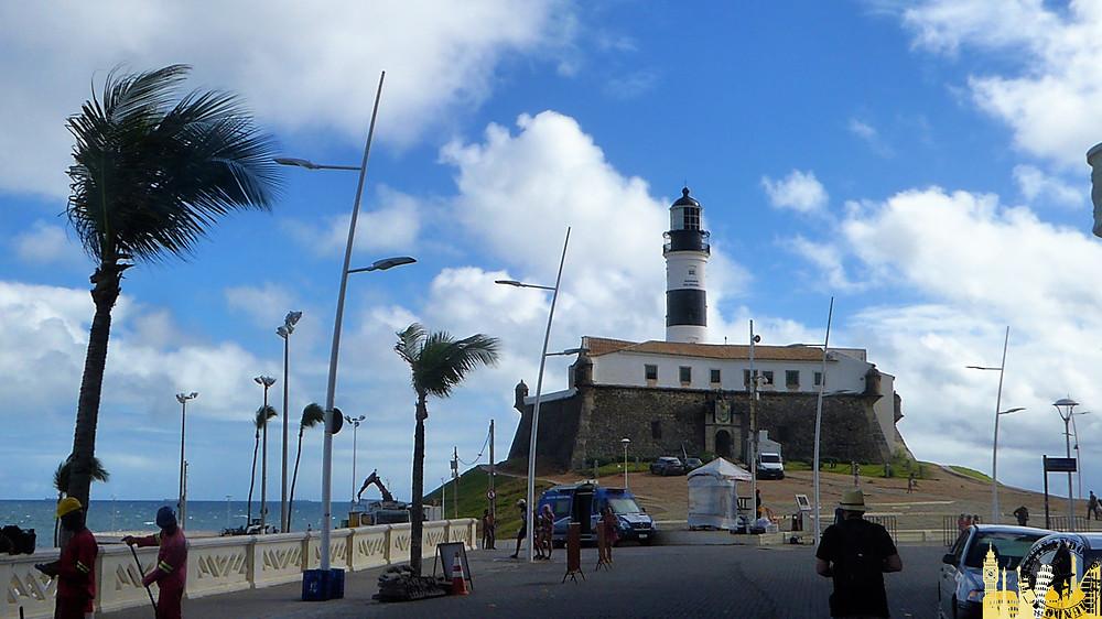 Faro da Barra. Salvador de Bahía (Brasil)