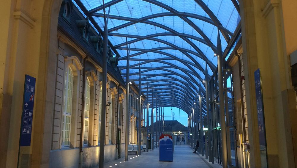 Estación trenes Luxemburgo