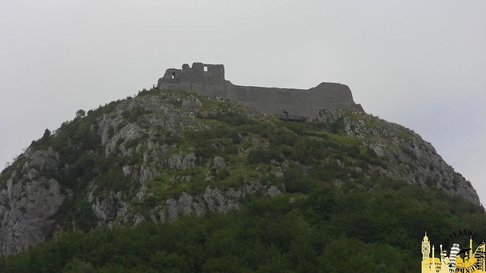 Castillo cátaro de Montsegur (Francia)