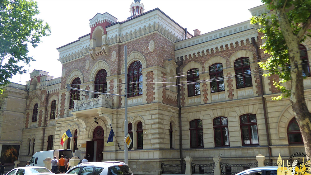 Museo Nacional de Bellas Artes. Chisinau (Moldavia)