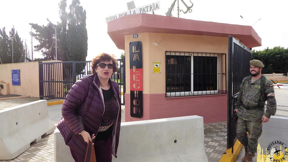 Melilla (España). Cuartel Legión