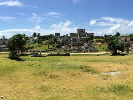 El sorprendente sitio arqueológico de Tulum (México).