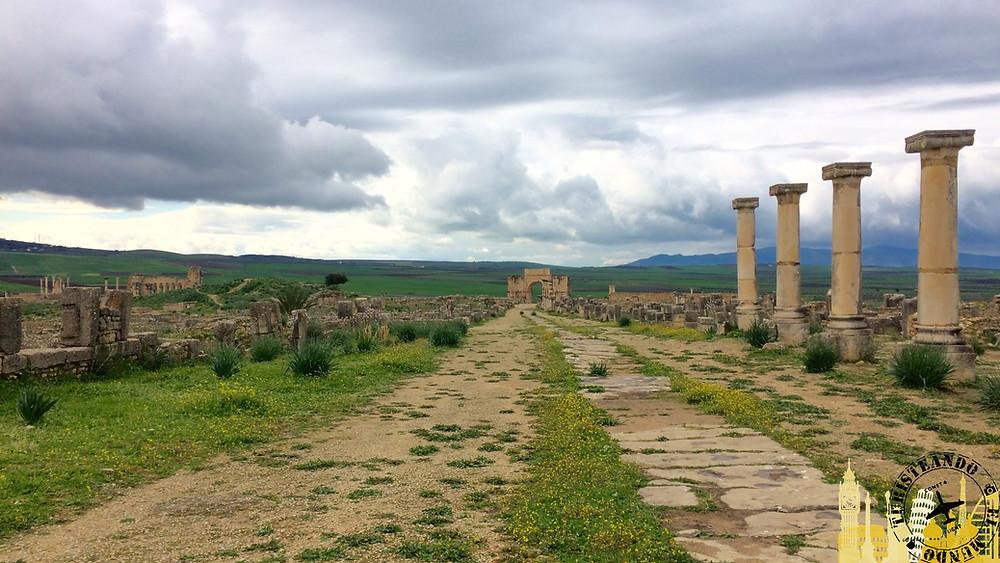 Ciudad Romana Volibilis, Marruecos
