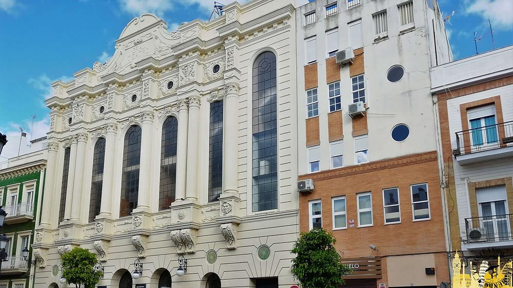 Teatro Colón. Huelva (Andalucía). España