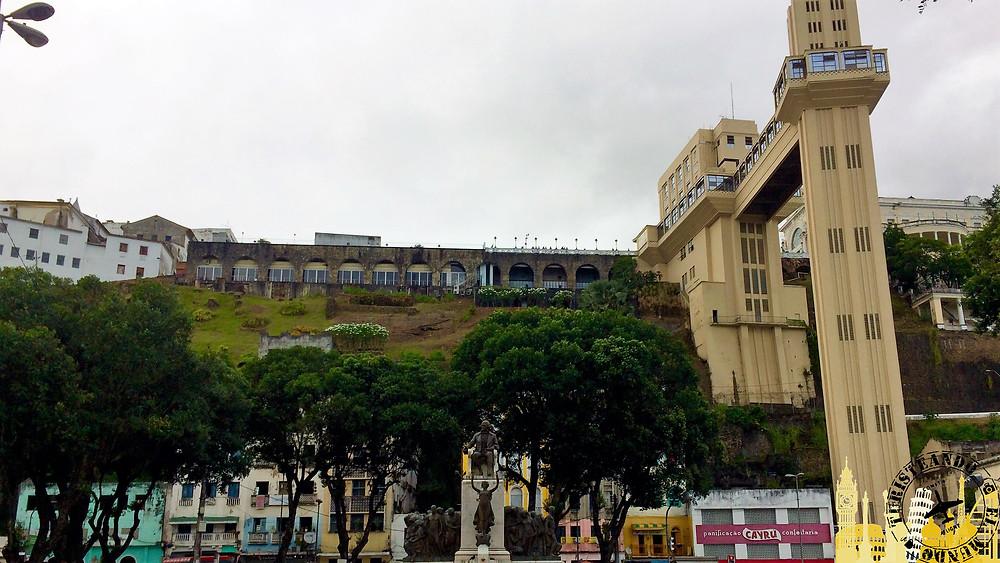 Elevador Lacerda. Salvador de Bahía (Brasil)