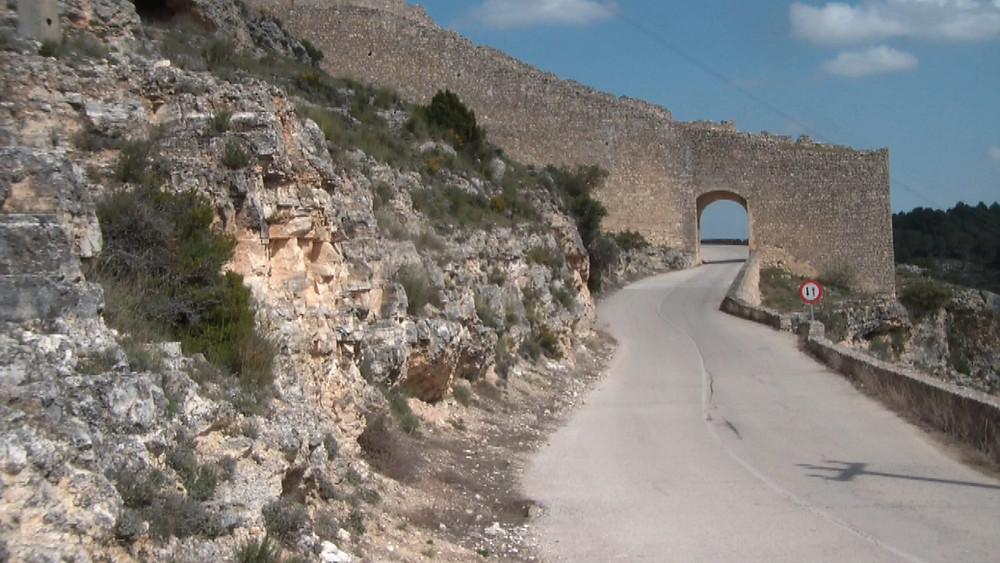 Fortaleza murallas de Alarcón (Cuenca)