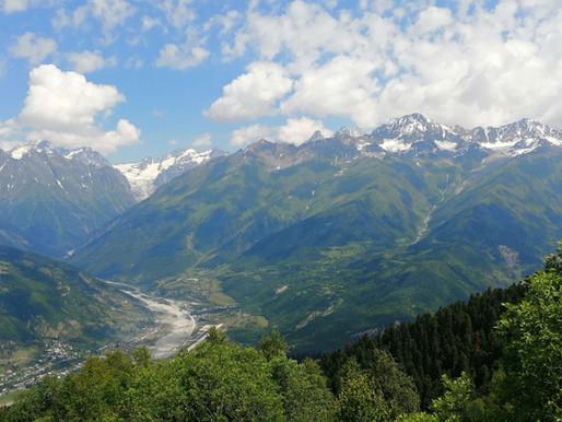 Alto Svaneti desde Mestia (UNESCO). Georgia