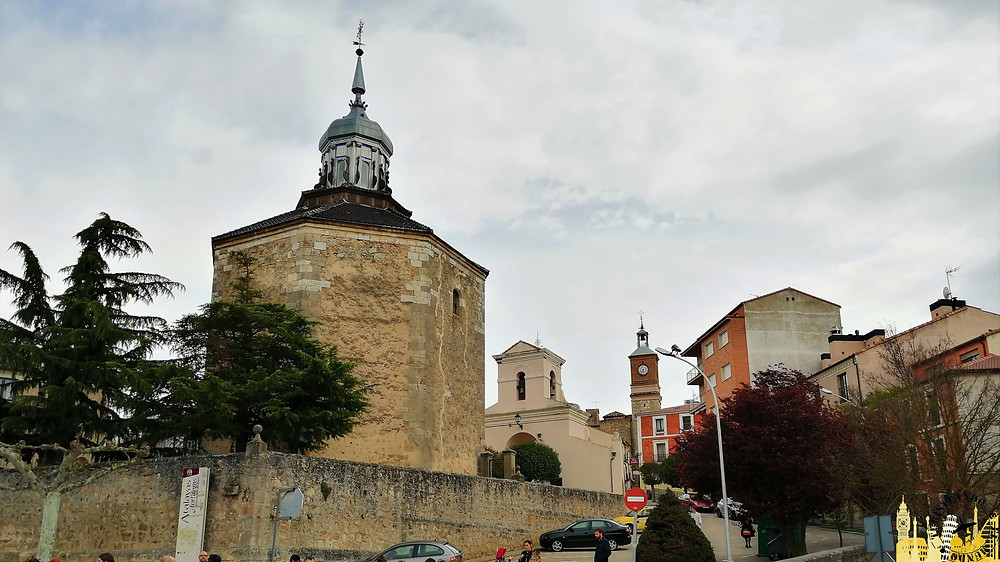 Ermita del Cristo en Almazán  (Soria). Castilla-León