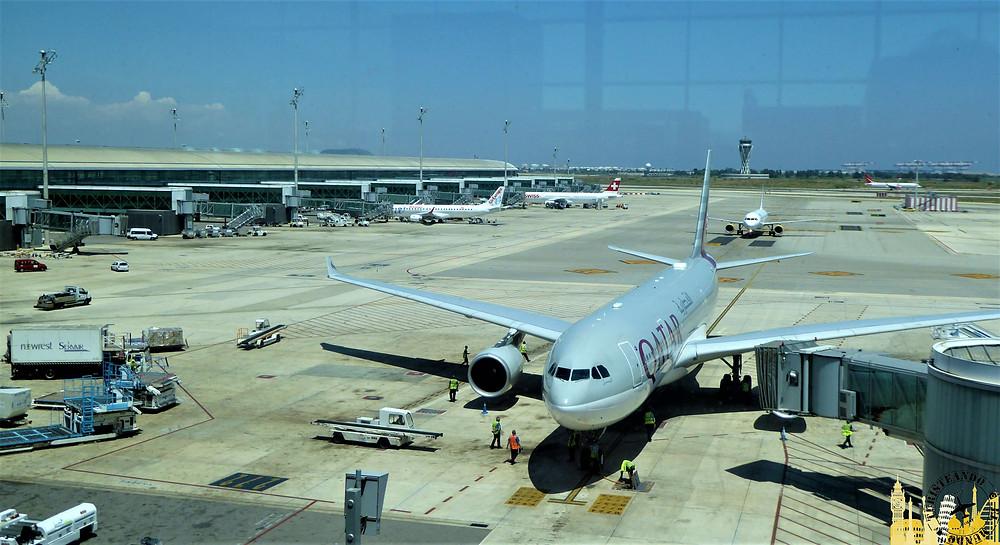 Airbus 380 Qatar Airways
