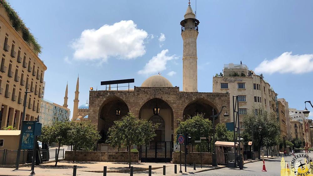 Beirut. Mezquita Emir Assaf