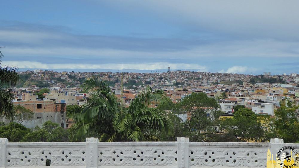Vistas de la ciudad desde Iglesia de Bonfim. Salvador de Bahía (Brasil)