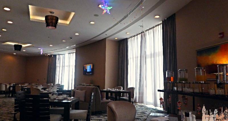 Bufet desayunos Hotel Meliá Doha