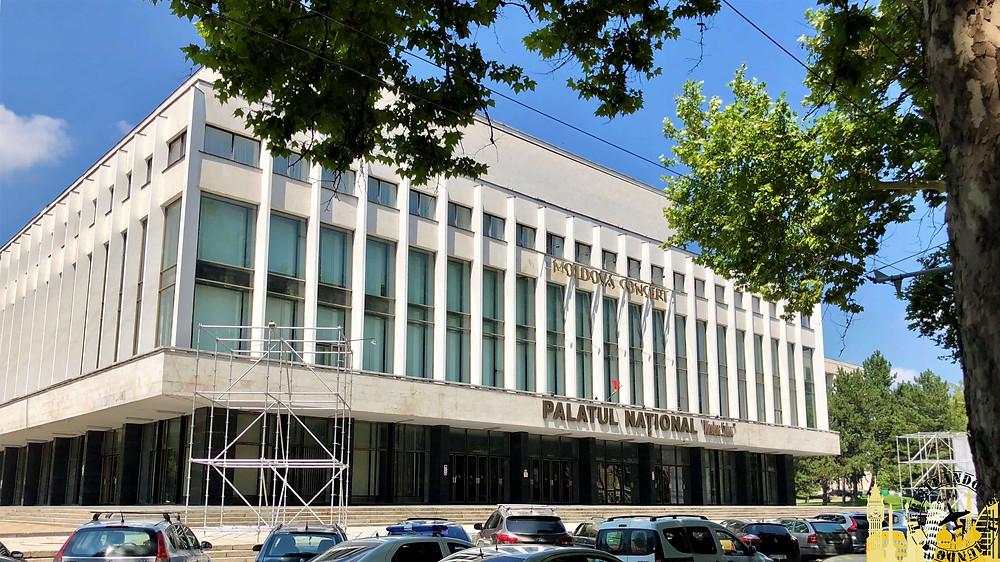 Palacio de Conciertos. Chisinau (Moldavia)