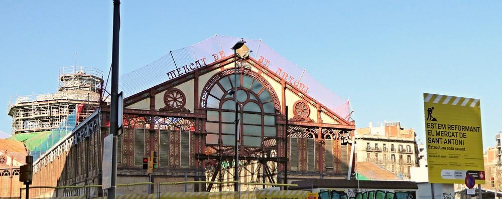 Mercado Sant Antoni. Barcelona