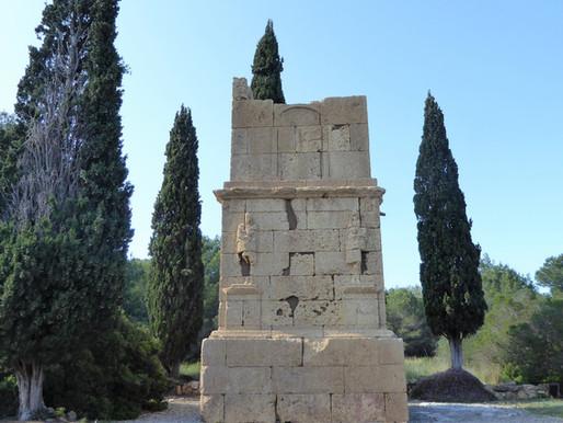 Conjunto arqueológico de Tarraco (UNESCO) en las afueras de Tarragona. Cataluña (España)