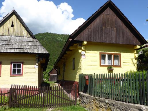 Vlkolínec (Unesco). Eslovaquia
