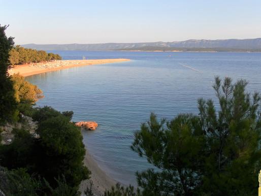 Isla de Brac y la playa del cuerno dorado.