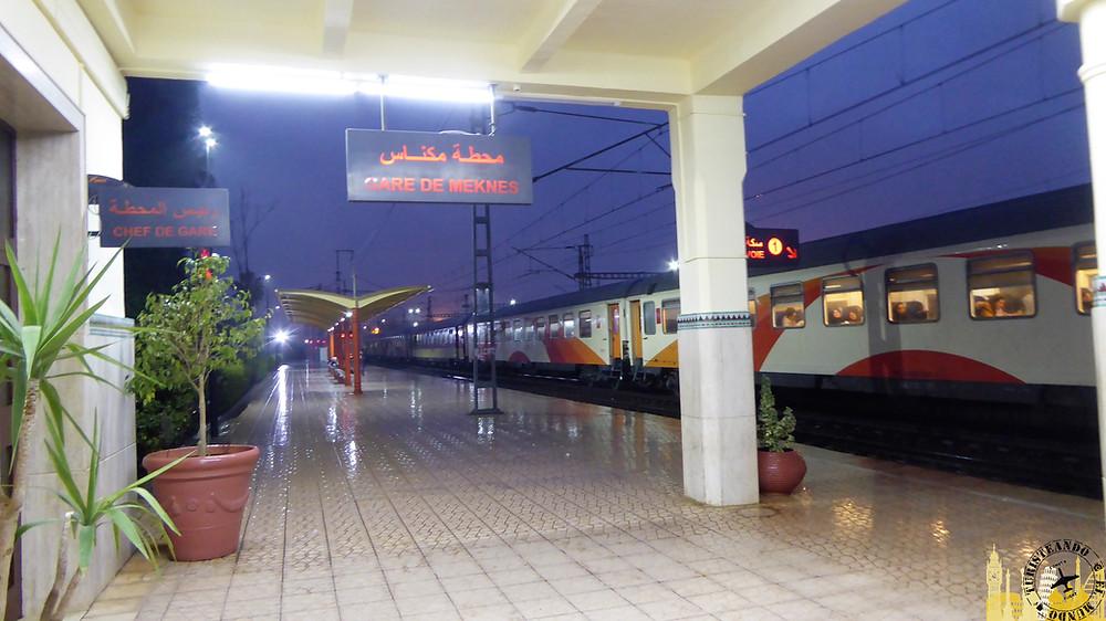 Trenes Marruecos