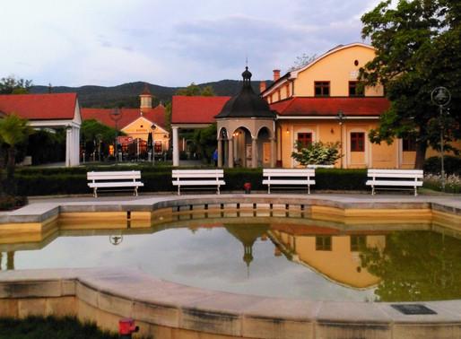 Piestany, ciudad balneario (Eslovaquia)