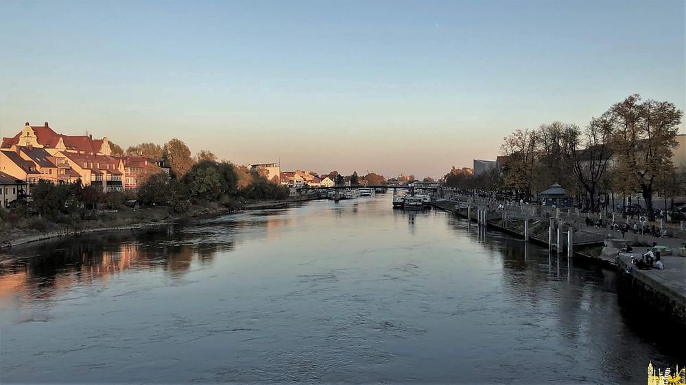 Ratisbona (alemania). Río Danubio