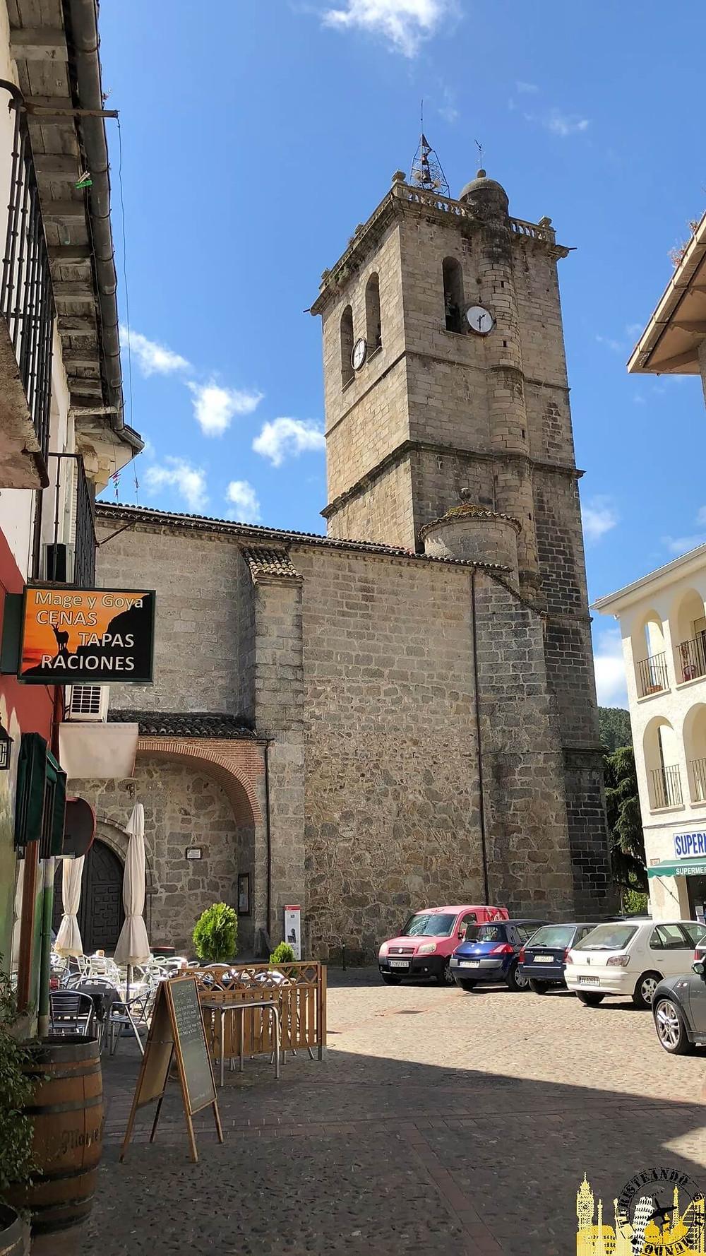 Arenas de San Pedro (Ávila). Iglesia Nuestra Sra de la Asunción