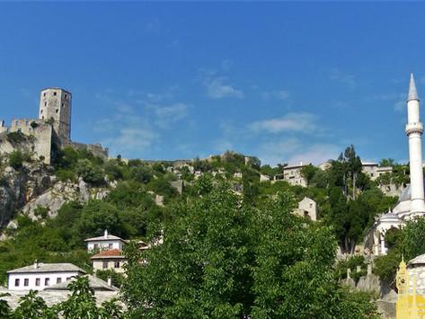 Pocitelj. Puerta de entrada en Bosnia-Hertzegovina