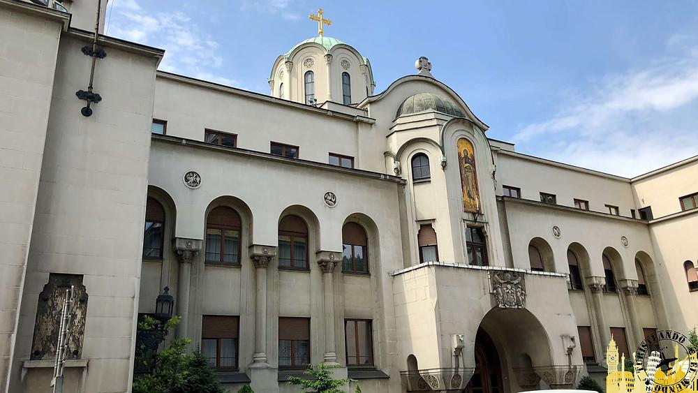 Palacio del Patriarcado de la iglesia ortodoxa serbia (Belgrado)