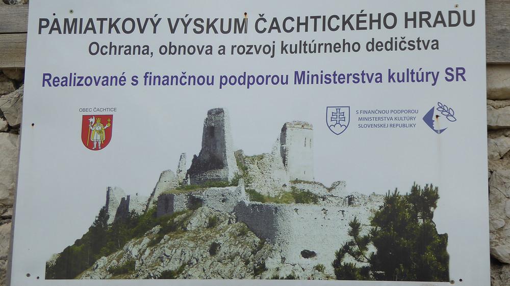 Castillo de Cachtice (Eslovaquia)