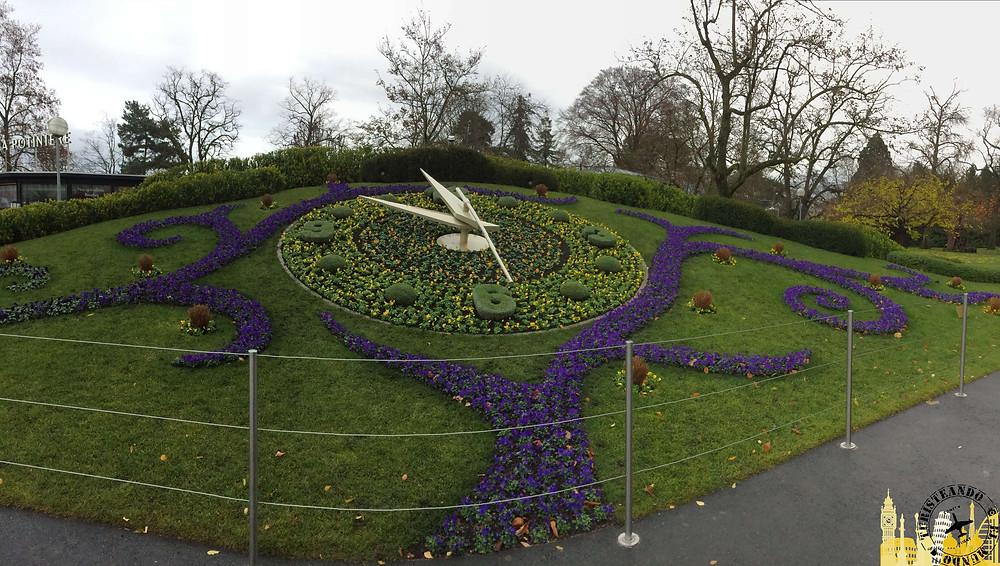 Reloj de Flores, Ginebra (Suiza)