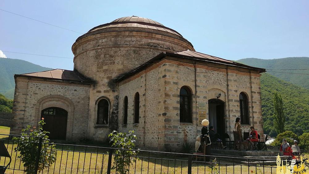 Museo en Palacio del Khan de Sheki (Azerbaiyán)