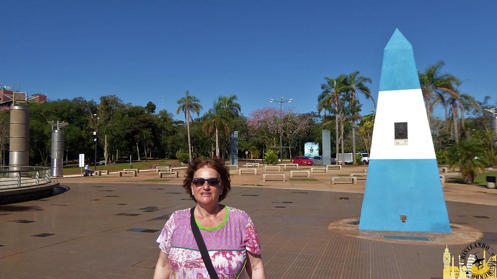 Hito tres fronteras (Puerto Iguazú). Argentina